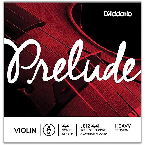 D'Addario Prelude Violin A String 4/4 Size Heavy