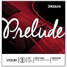 D'Addario Prelude Violin E String 1/4
