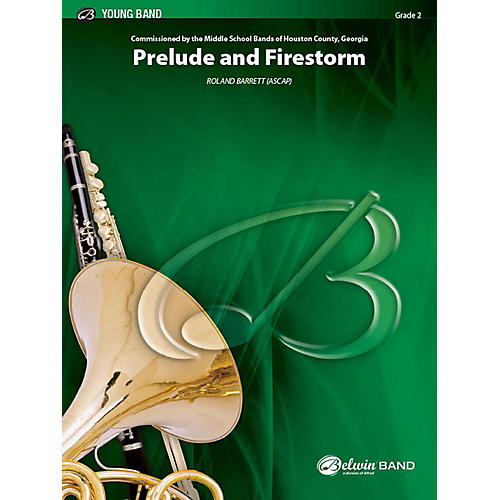 Alfred Prelude and Firestorm Concert Band Grade 2 Set-thumbnail