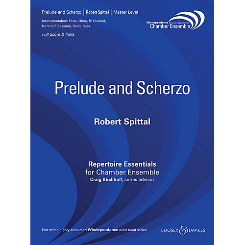 Boosey and Hawkes Prelude and Scherzo Windependence Chamber Ensemble Series by Robert Spittal-thumbnail