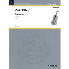 Schott Prelude (for Solo Cello) String Solo Series Softcover