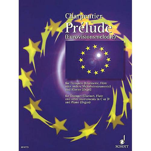 Schott Prelude from Te Deum Schott Series-thumbnail
