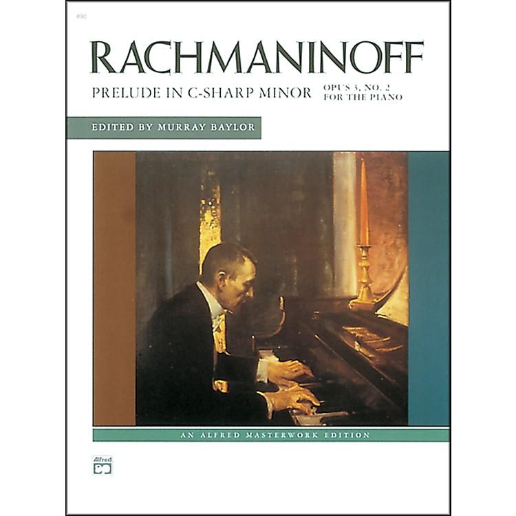 AlfredPrelude in C-Sharp minor Op. 3 No. 2