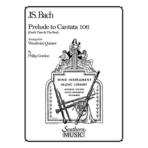 Southern Prelude to Cantata 106 (Woodwind Quintet) Southern Music Series Arranged by Philip Gordon-thumbnail