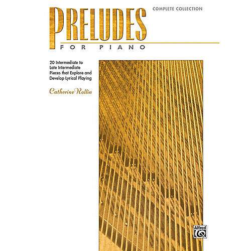 Alfred Preludes for Piano: Complete Collection - Book Intermediate / Late Intermediate-thumbnail