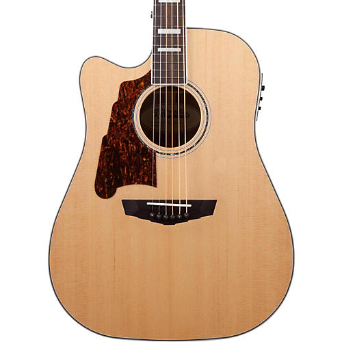 D Angelico Premier Bowery Acoustic Electric Guitar Natural