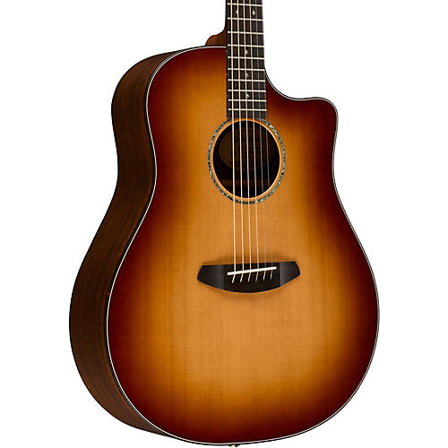 Breedlove Premier Dreadnought Copper CE Sitka Spruce - East Indian Rosewood Acoustic-Electric Guitar-thumbnail