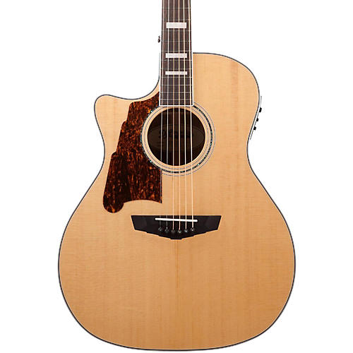 D'Angelico Premier Gramercy Left Handed Acoustic Guitar-thumbnail