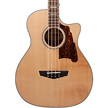 D'Angelico Premier Mott Acoustic-Electric Bass Guitar Natural