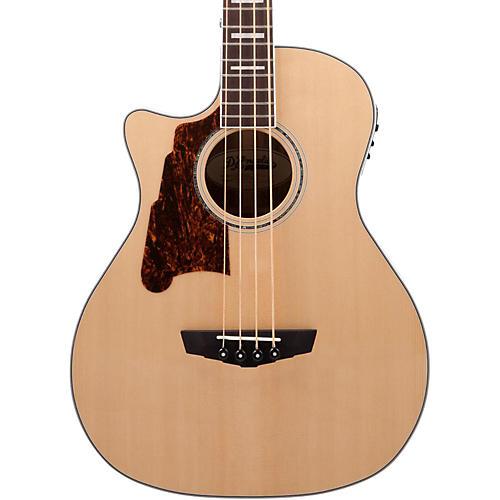 D'Angelico Premier Mott Left Handed Acoustic-Electric Bass Guitar-thumbnail
