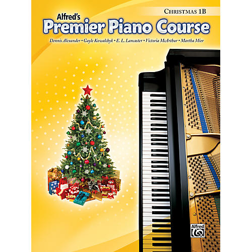 Alfred Premier Piano Course Christmas Book 1B-thumbnail