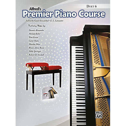 Alfred Premier Piano Course, Duet 6 Book Level 6-thumbnail