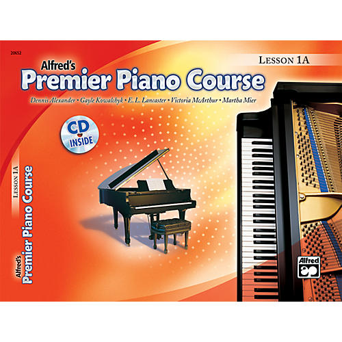 Alfred Premier Piano Course Lesson Book 1A  Book 1A & CD