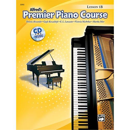 Alfred Premier Piano Course Lesson Book 1B Book 1B & CD