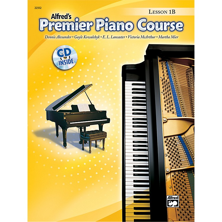 Alfred Premier Piano Course Lesson Book 1B Book 1B & CD