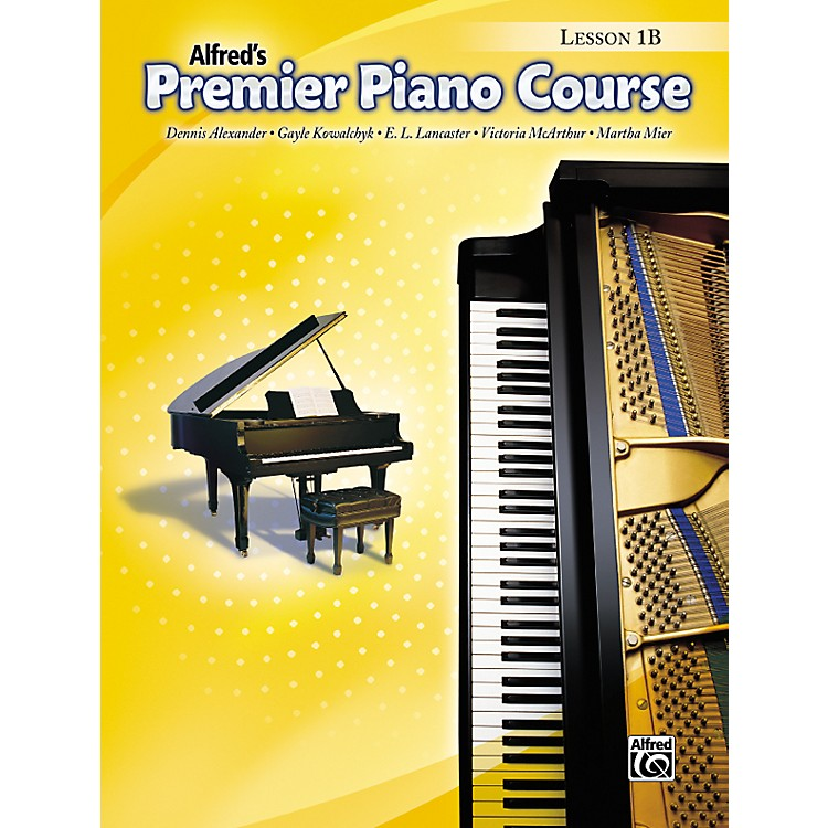 AlfredPremier Piano Course Lesson Book 1B