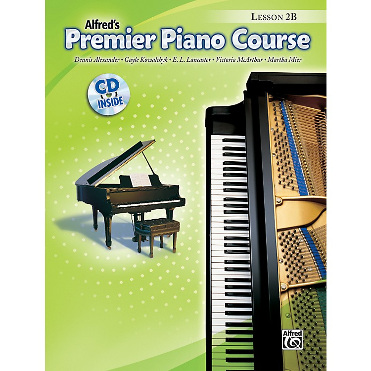 AlfredPremier Piano Course Lesson Book 2B Book 2B & CD