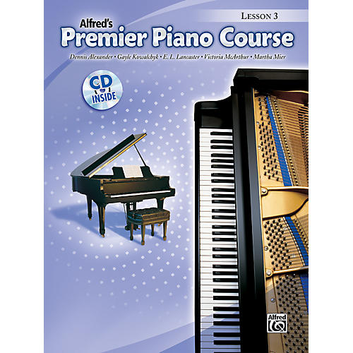 Alfred Premier Piano Course Lesson Book 3 Book 3 & CD