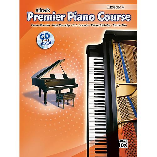 Alfred Premier Piano Course Lesson Book 4 Book 4 & CD