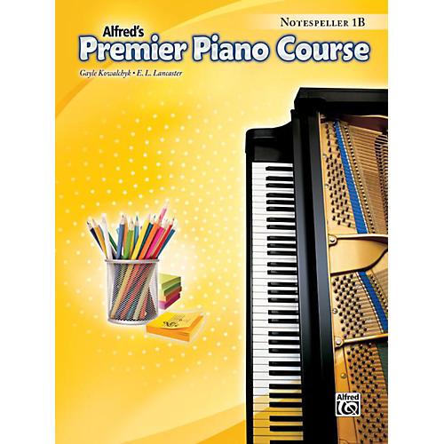 Alfred Premier Piano Course Notespeller Level 1B Book-thumbnail