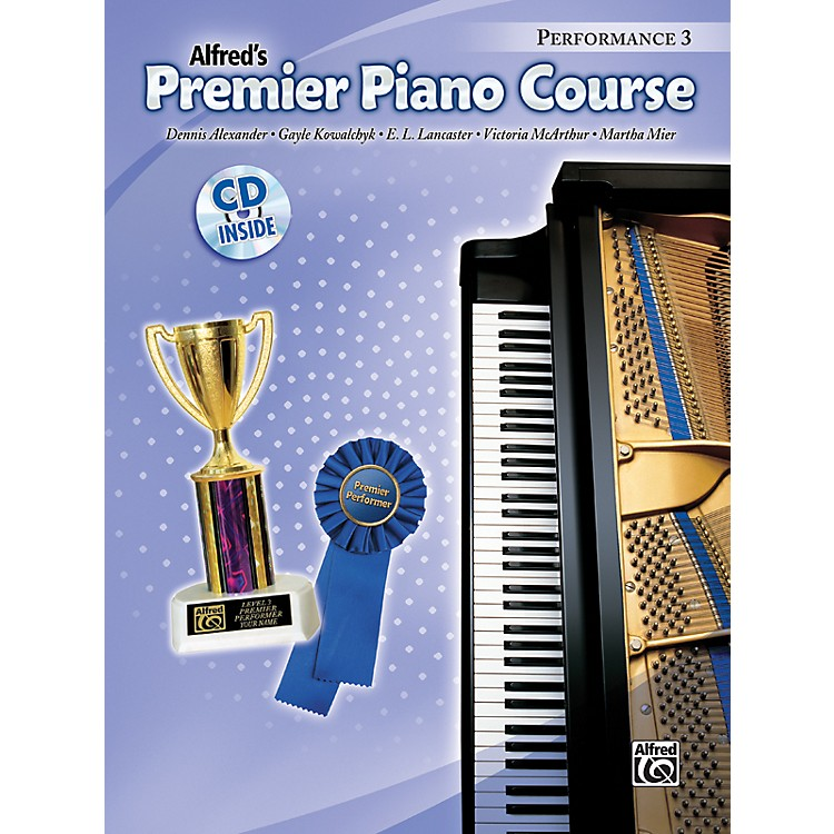Alfred Premier Piano Course Performance Book 3 Book 3 & CD