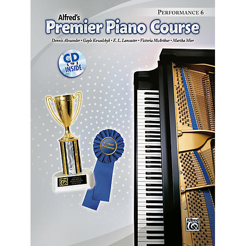 Alfred Premier Piano Course Performance Book 6/CD