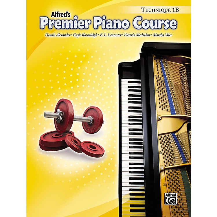 Alfred Premier Piano Course Technique Book 1B