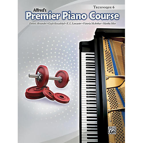 Alfred Premier Piano Course Technique Book 6 Book-thumbnail