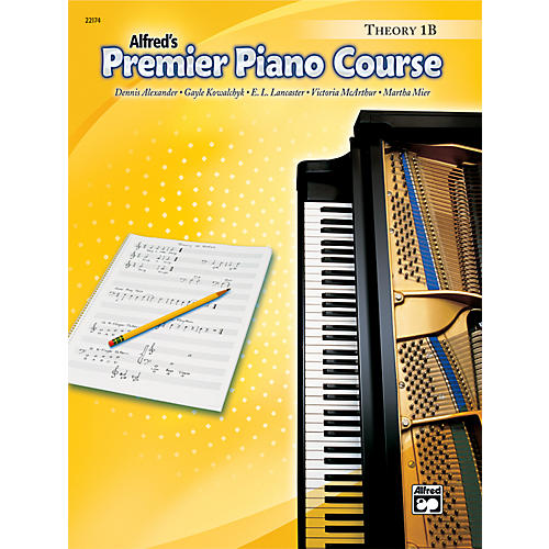 Alfred Premier Piano Course Theory Book 1B