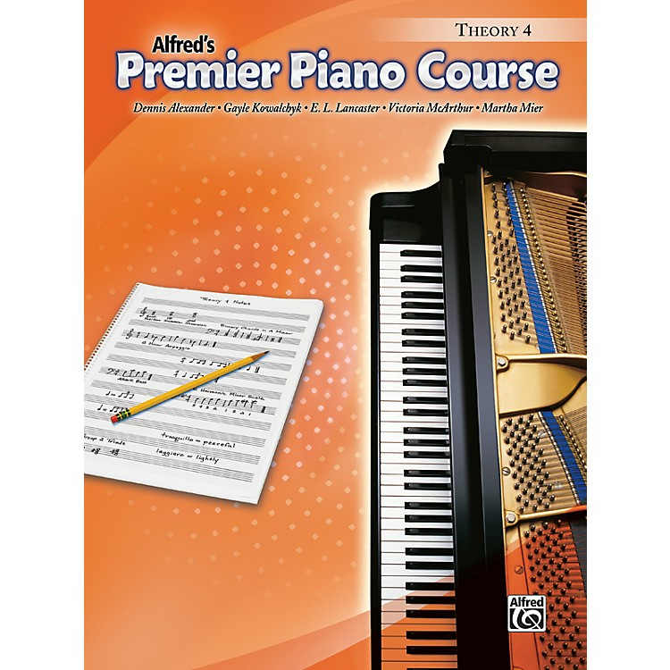 Alfred Premier Piano Course Theory Book 4
