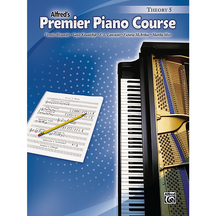 AlfredPremier Piano Course Theory Book 5