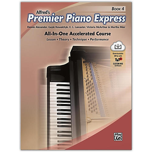 Alfred Premier Piano Express, Book 4 Book & Online Audio & Software Level 5-6-thumbnail