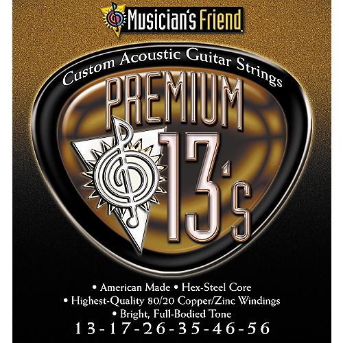 Musician's Friend Premium 13s Acoustic 3-pack