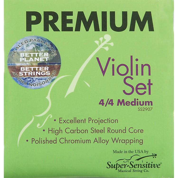 Super SensitivePremium 4/4 Size Violin Strings4/4D String