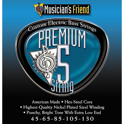 Musician's Friend Premium 5 String Bass Twin Pack