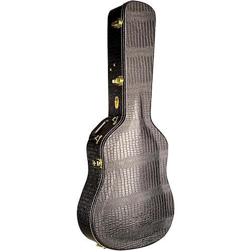 Guild Premium Alligator Jumbo Acoustic Guitar Case