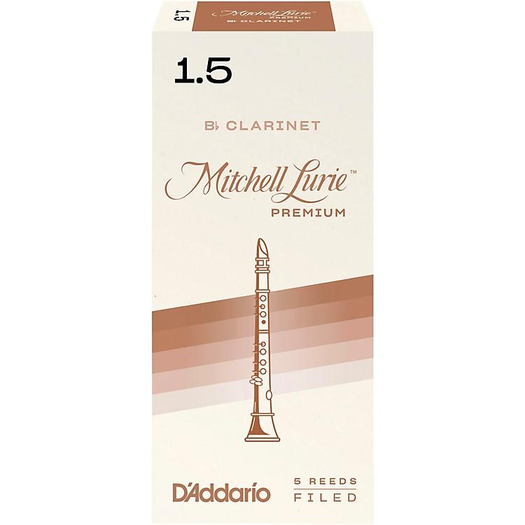 Mitchell LuriePremium Bb Clarinet ReedsStrength 2Box of 5