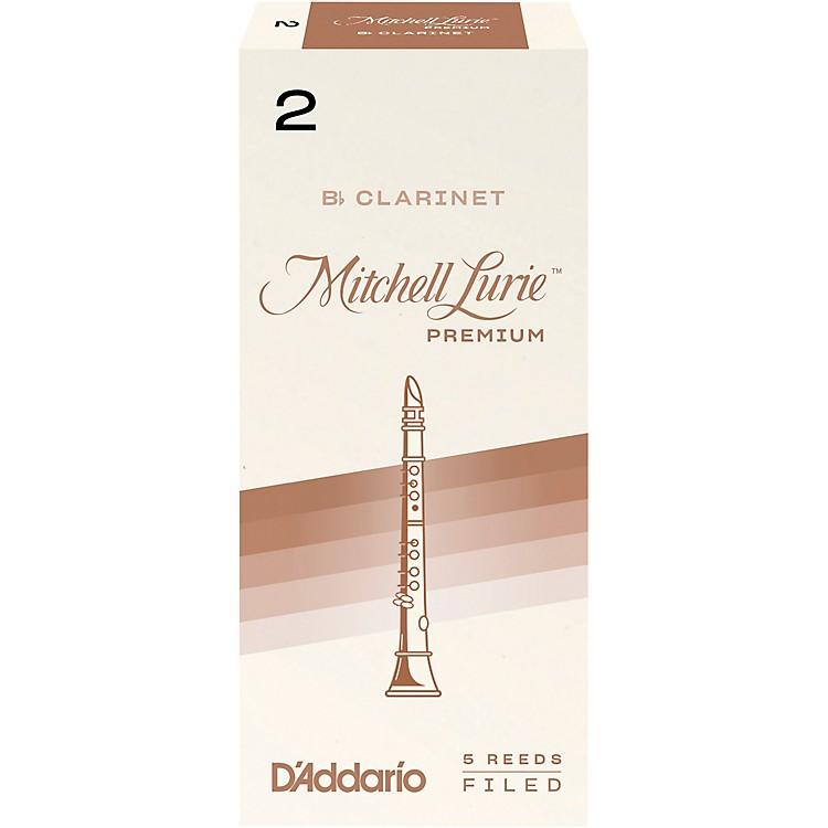 Mitchell LuriePremium Bb Clarinet Reeds
