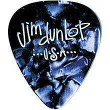 Dunlop Premium Celluloid Classic Guitar Picks 1 Dozen Blue Pearloid Heavy