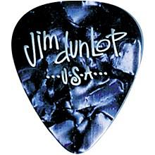 Dunlop Premium Celluloid Classic Guitar Picks 1 Dozen Blue Pearloid Medium