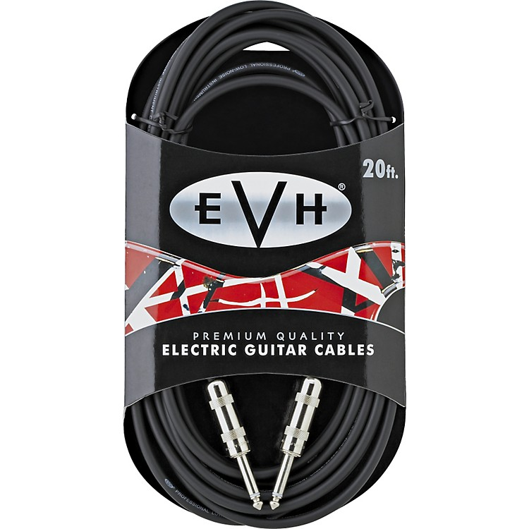EVH Premium Electric Guitar Cable - Sraight Ends 20 FT