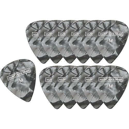 Musician's Gear Premium Pearloid Celluloid Pick - 12 Pack