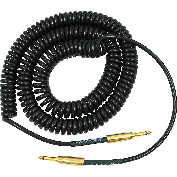 Bullet CablePremium Vintage Coil Cable Straight-Straight Chrome Bullet Connectors
