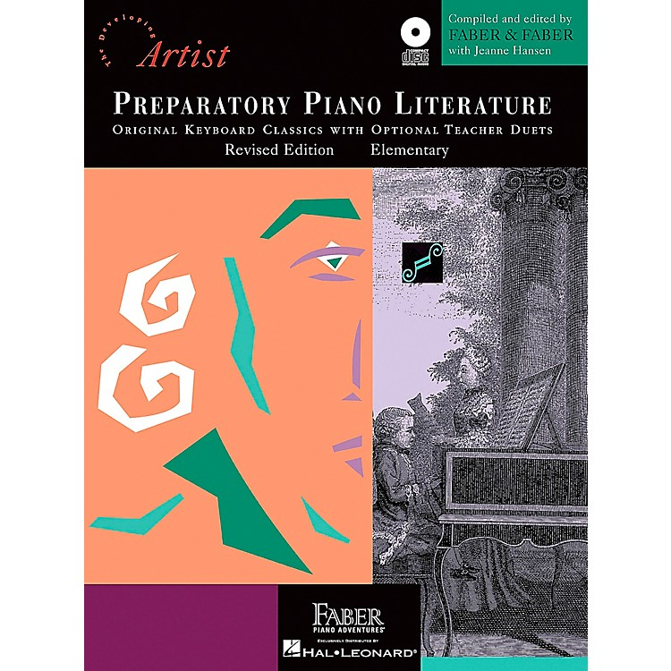 Faber Music Preparatory Piano Literature - Developing Artist Original Keyboard Classics Book/CD Faber Piano