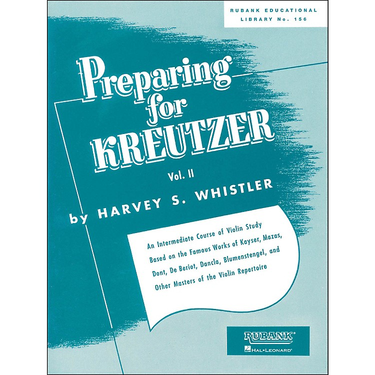 Hal Leonard Preparing for Kreutzer Vol 2 Violin Methods And Studies