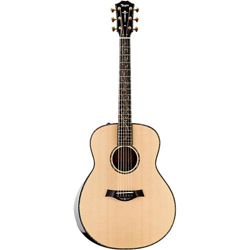 Taylor Presentation Series 2015 PS18e Grand Orchestra Macassar Ebony Acoustic-Electric Guitar