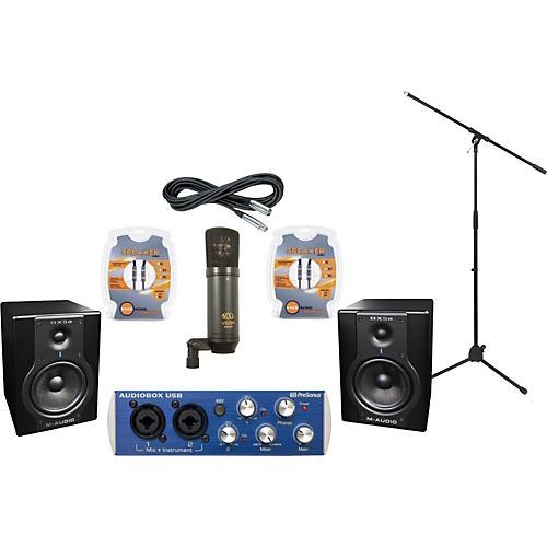 M-Audio Presonus AudioBox and M-Audio BX5a Recording Package