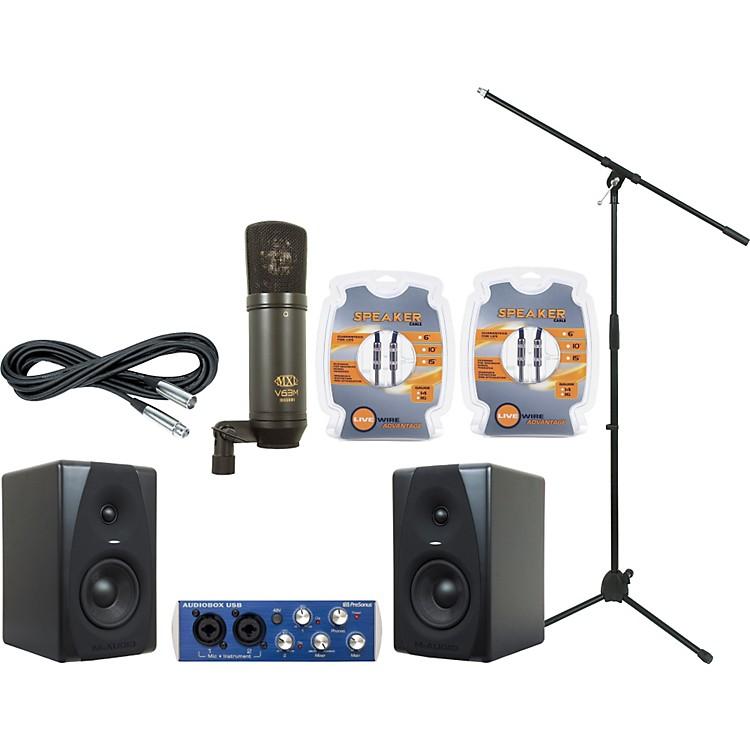 M-AudioPresonus AudioBox and M-Audio CX5 Recording Package