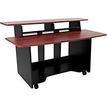 Omnirax Presto 4 Studio Desk Mahogany