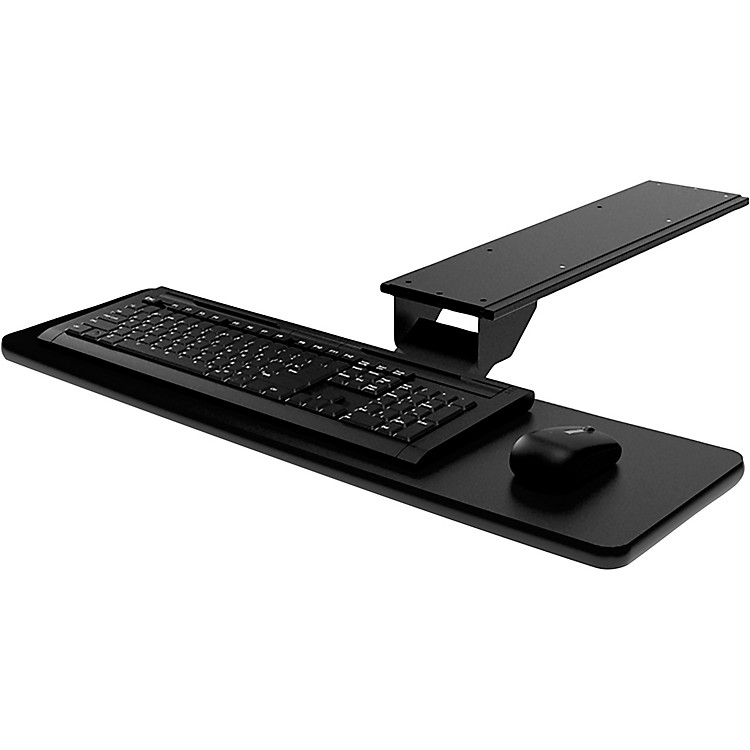 OmniraxPresto Computer Keyboard Shelf - OnlyBlack